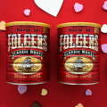 vintage folgers coffee