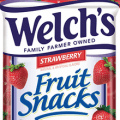 welchs strawberry fruit snacks