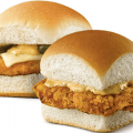 white castle chicken sliders