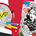 wonder woman mothers day craft