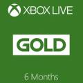 xbox live gold membership 6 months
